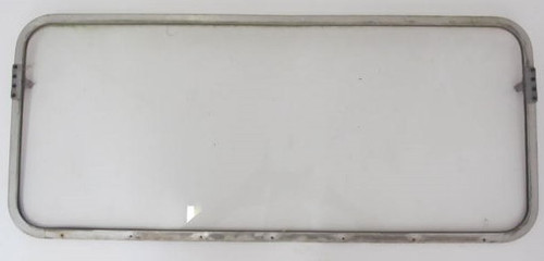 "12-1/2"" x 29-5/8"" Aluminum Spartan Window with Glass (BP339)"