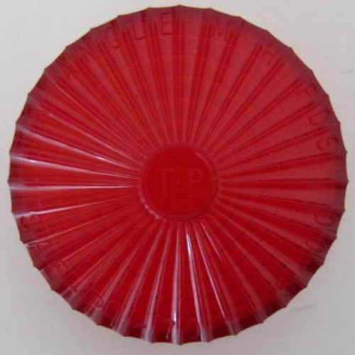 Red Starburst Clearance Light (Lens Only) (LT426)