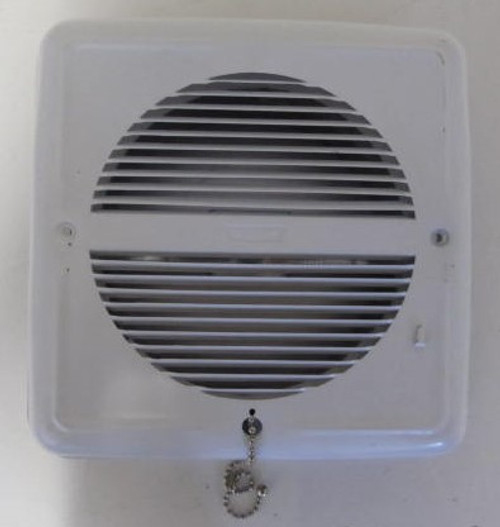 Ventline White 110V Sidewall Vent (without fan)