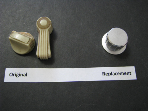 Aluminum Knob for Spartan Window Latch