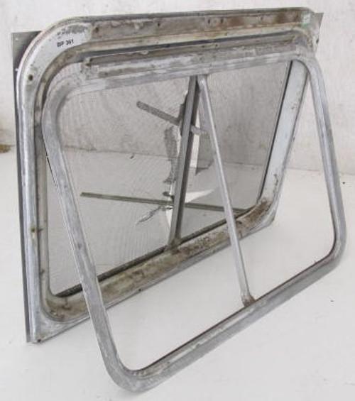"25-1/4"" x 19-1/4"" Aluminum Window Frame (w/o Glass) (BP361)"