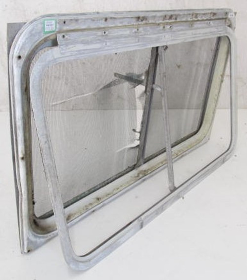 "33-1/8"" x 19-3/4"" Aluminum Window Frame (w/o glass) (BP362)"
