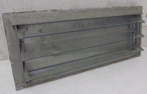 "31-13/16"" x 13-5/16"" 3 Pane Jalousie Window (BP368)"