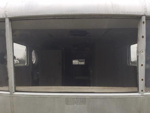 Spartan Center front Polycarbonate Window (1946 Only) (CBP018A)