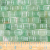 Green Aventurine 10mm Square Beads - approx. 8 inch strand, Set A