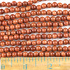 Goldstone 6mm Round Beads - approx. 8 inch strand, Set A