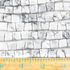 Howlite 10mm Square Beads - approx. 8 inch strand, Set A