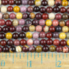 Mookaite 6mm Round Beads - approx. 8 inch strand, Set A