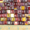 Mookaite 10mm Square Beads - approx. 8 inch strand, Set A