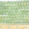 New Jade 8mm Round Beads - approx. 8 inch strand, Set A