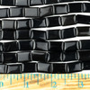 Black Obsidian 10x14mm Rectangle Beads - approx. 8 inch strand, Set A