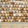 Picture Jasper 6mm Round Beads - approx. 8 inch strand, Set A