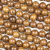 Rose Wood 10mm Round Beads - 15.5 inch strand