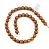 Sandalwood 10mm Round Beads - 15.5 inch strand
