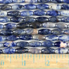 Sodalite 7x14mm Rice Beads - approx. 8 inch strand, Set A