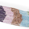 Pastel Morning Gemstone Artisan Strand - 6mm Round Beads, 15 inch strand, mix #2