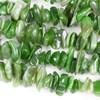 Nephrite Jade 8-18mm Chip Beads - 15 inch strand