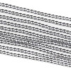 Hematite 2mm Plated Silver Round Beads - approx. 8 inch strand
