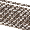 Hematite 3mm Electroplated Bronze Round Beads - approx. 8 inch strand