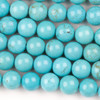 Turquoise Howlite 10mm Round Beads - approx. 8 inch strand, Set A