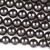 Black Obsidian - Set A & B 8 inch strands 10mm Round Beads - approx. 8 inch strand, Set A