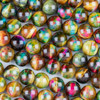Rainbow Tigereye 12mm Round Beads - 15 inch strand