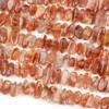 Sunstone 6x13-16mm Nugget Beads - 15 inch strand