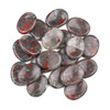 African Bloodstone Worry Stone - 1 per bag
