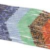 Matte Chakra 8mm Round Gemstone Artisan Strand - 15 inch strand