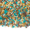Miyuki 11/0 Cleopatra Mix Delica Seed Beads - #MIX9046, 7.2 gram tube