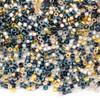 Miyuki 11/0 Dress Blues Mix Delica Seed Beads - #MIX9109, 7.2 gram tube