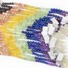 Midsummer Chakra 6mm Round Gemstone Artisan Strand - 8 inch strand