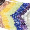Midsummer Chakra 8mm Round Gemstone Artisan Strand - 8 inch strand