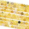 Yellow Opal 6mm Round Beads - 15.5 inch strand