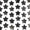 Black Labradorite/Larvikite 25x26mm Top Drilled Star Pendant - 1 per bag