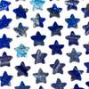 Lapis 25x26mm Top Drilled Star Pendant - 1 per bag