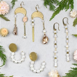 Shell and Pearl Earring Collection
