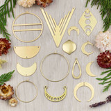 Coated Brass Jewelry Making Supplies