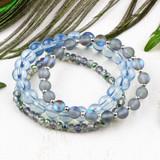 Mermaid Blue Stacking Elastic Bracelets