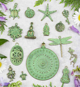 Green Bronze Charms