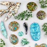 Ceramic Pendants by Firefly Design Studio
