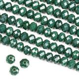 Crystal 4x6mm Rondelles - 15 inch strands