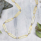 Chunky Paper Clip Chain Necklace
