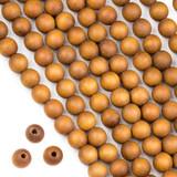 Large Hole Wood Beads