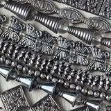 Pewter Beads - Gun Metal