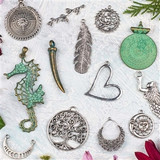 Metal Pendants and Focal Pieces