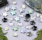 New Gemstone Tiny Star Pendants