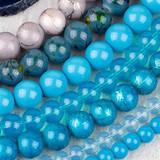 Glass Round Beads