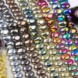Glass Pebble Beads