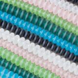 Matte Glass (Sea Glass Style) Rondelles
